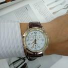 台中流當手錶拍賣 原裝 HERMES 愛馬仕 三眼 計時 不銹鋼 半金 石英 男女錶 9成新 KR001