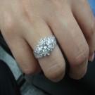 台中流當鑽石拍賣 流當品拍賣 豪華 50分 G色 女鑽戒 喜歡價可議