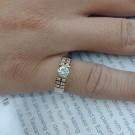台中當舖流當鑽戒 流當鑽石 豪華 37分 H色 K金 鑽戒 喜歡價可議 KS004