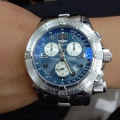 台中流當精品拍賣 流當手錶 少有 原裝 BREITLING 百年靈 計時 石英 救難錶 9成5新 喜歡價可議 ZR502